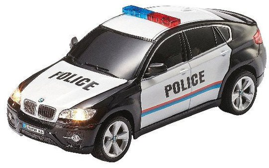 Revell BMW X6 Radiostyrt Bil Politi 1:24