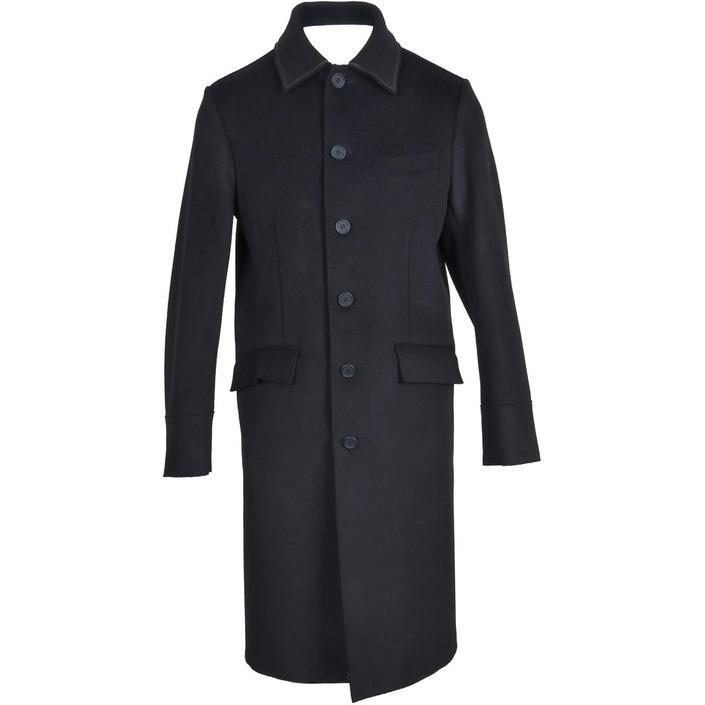 Bikkembergs Men's Coat Black 321689 - black 48