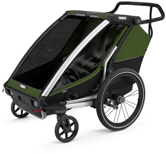 Thule Chariot Cab2 Sykkelvogn, Cypress Green