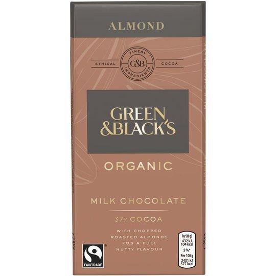 Eko Mjölkchoklad Mandlar - 50% rabatt