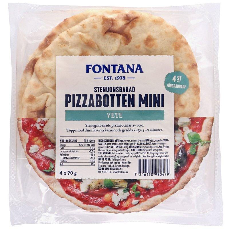 Pizzabottnar Vete 4-pack - 28% rabatt
