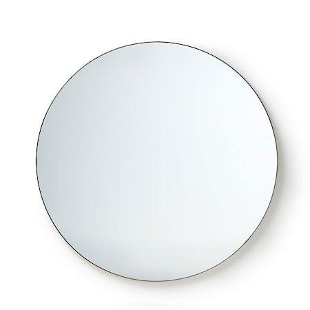 Rundt Speil Metall ramme 120 cm