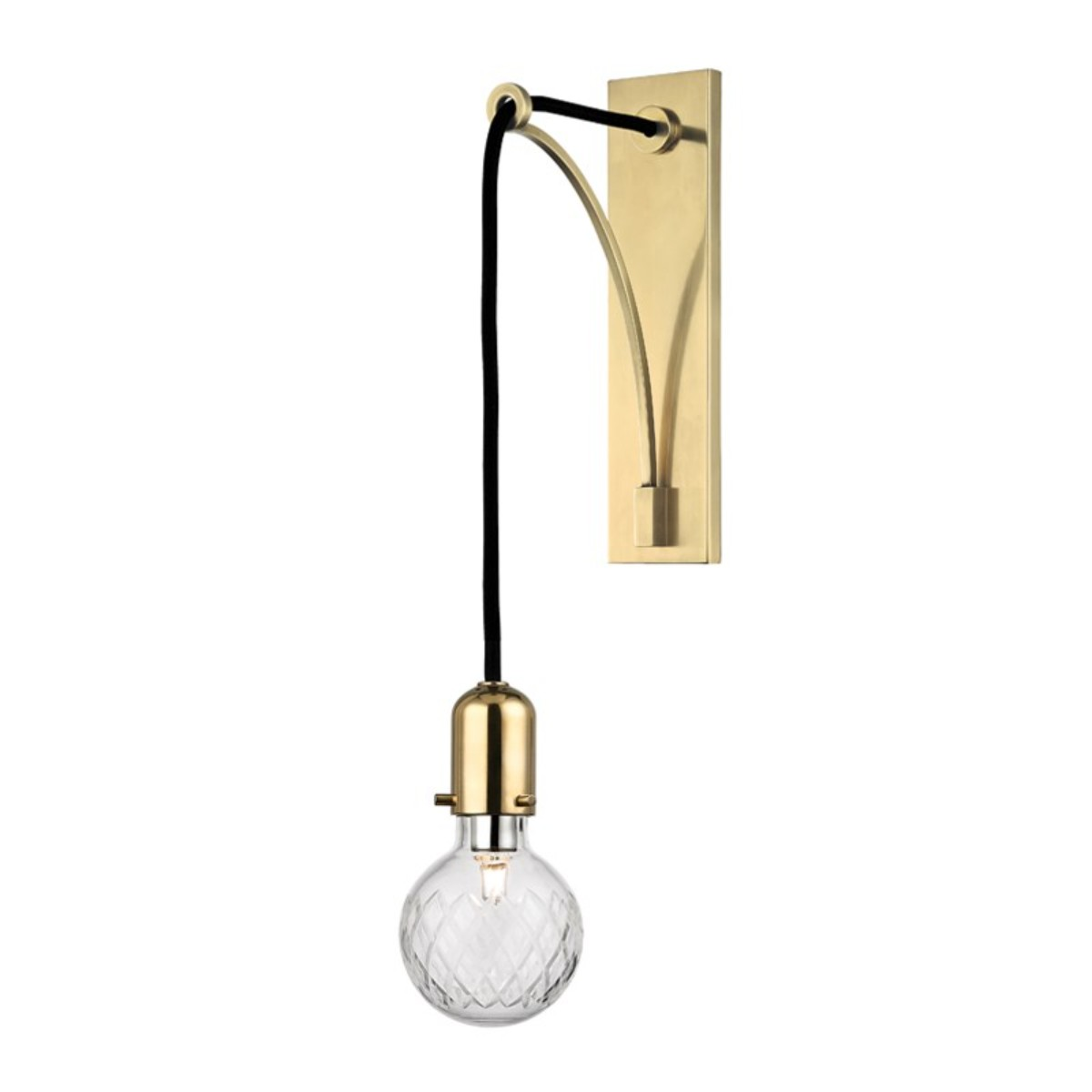 Hudson Valley I Marlow Wall Sconce I Aged Brass