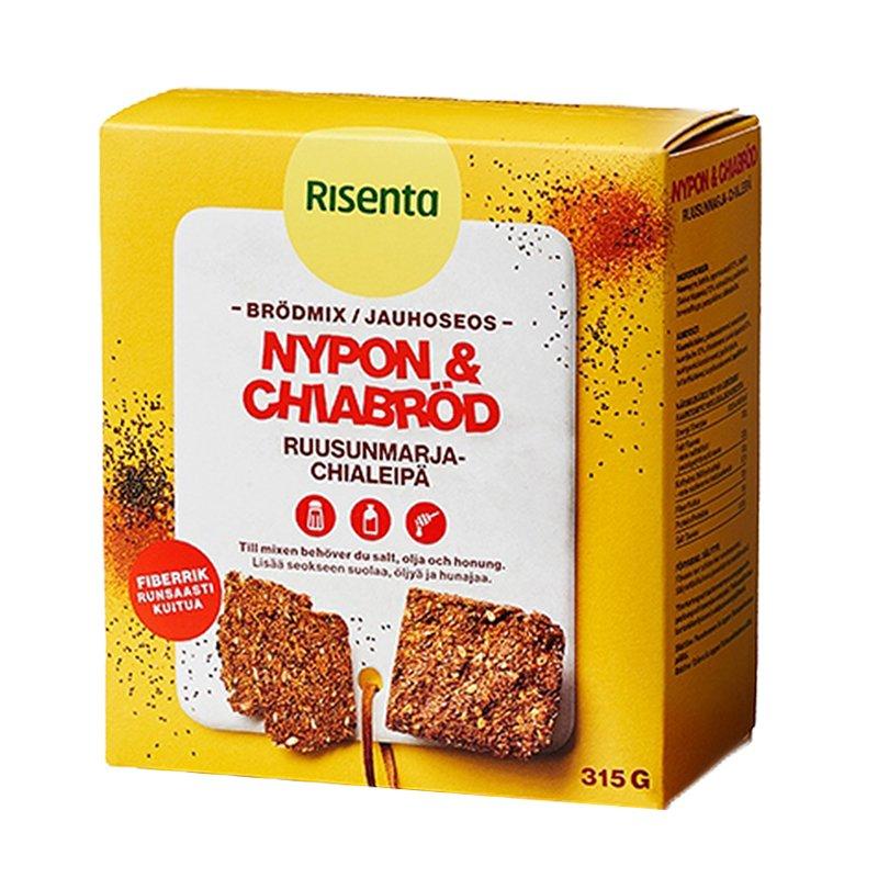 Brödmix Nypon- & Chiabröd 315g - 83% rabatt