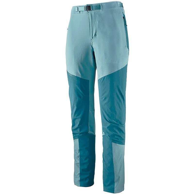 Patagonia W Altvia Alpin Pants 10 Upwell Blue
