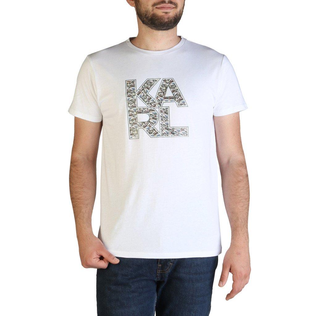 Karl Lagerfeld Men's T-Shirt Various Colours KL21MTS01 - white M