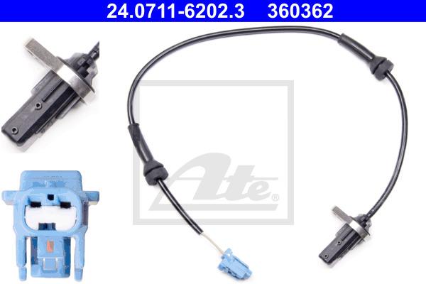 ABS-anturi ATE 24.0711-6202.3