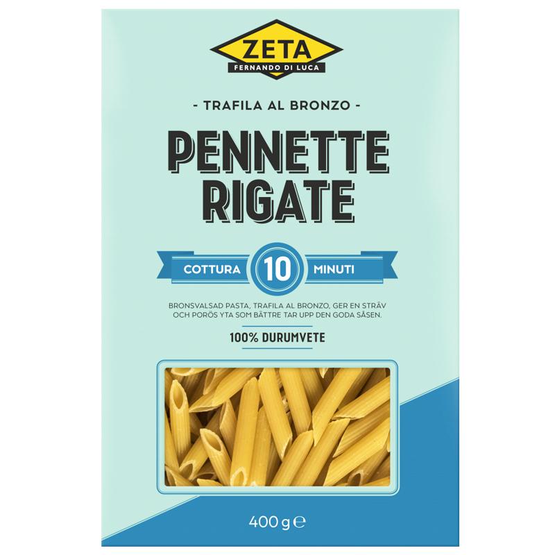 """Pasta """"Pennette Rigate"""" 400g - 22% rabatt"""