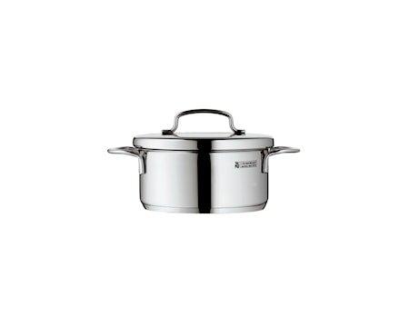 Mini Cook Lav Gryte 0,7L med lokk, Stål