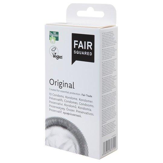 Fair Squared Rättvisemärkta Kondomer Original, 10 st