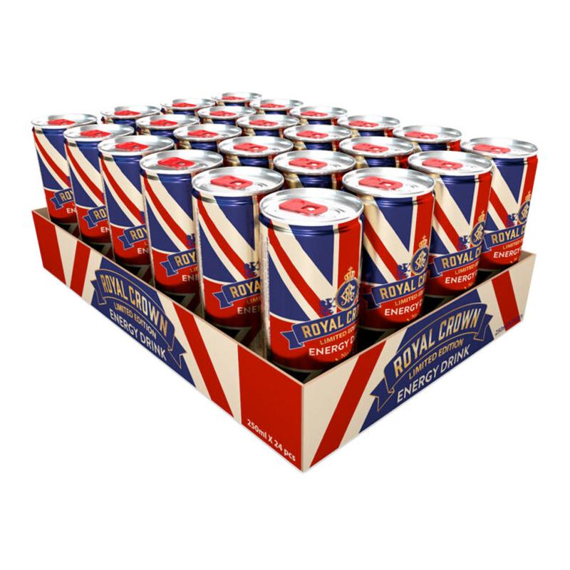 De Royal Energy Drink - 24-pack