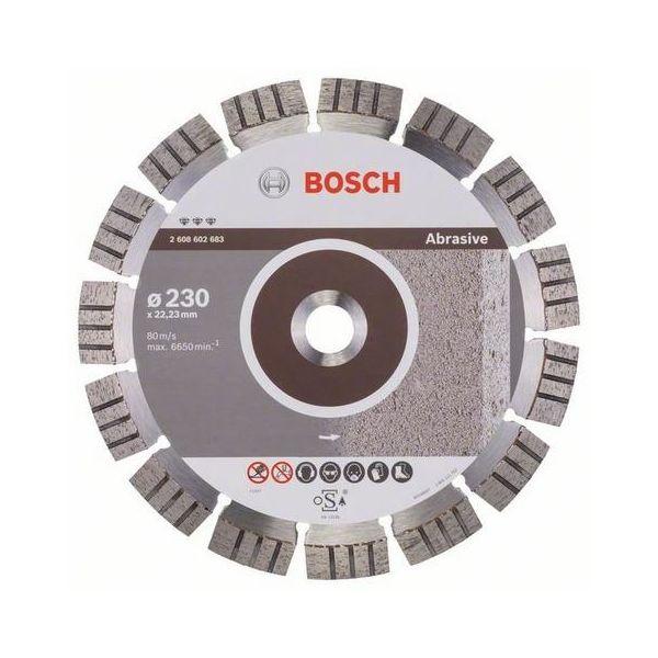 Bosch Best for Abrasive Timanttikatkaisulaikka Ø230mm