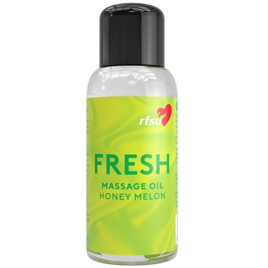 Fresh Massage Oil, 100 ml RFSU Vartalon kosteutus