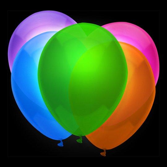 Ballonger UV Neon - 12-pack