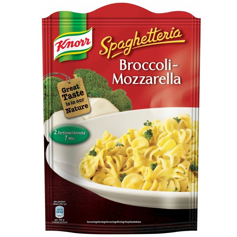 Pasta Broccoli & Mozzarella 157g - 20% alennus