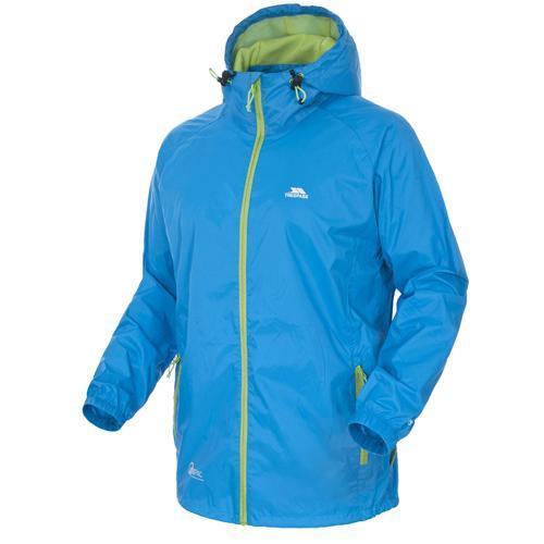 Trespass Unisex Waterproof Packaway Jacket Various Colours Qikpac Jkt - Royal Blue S