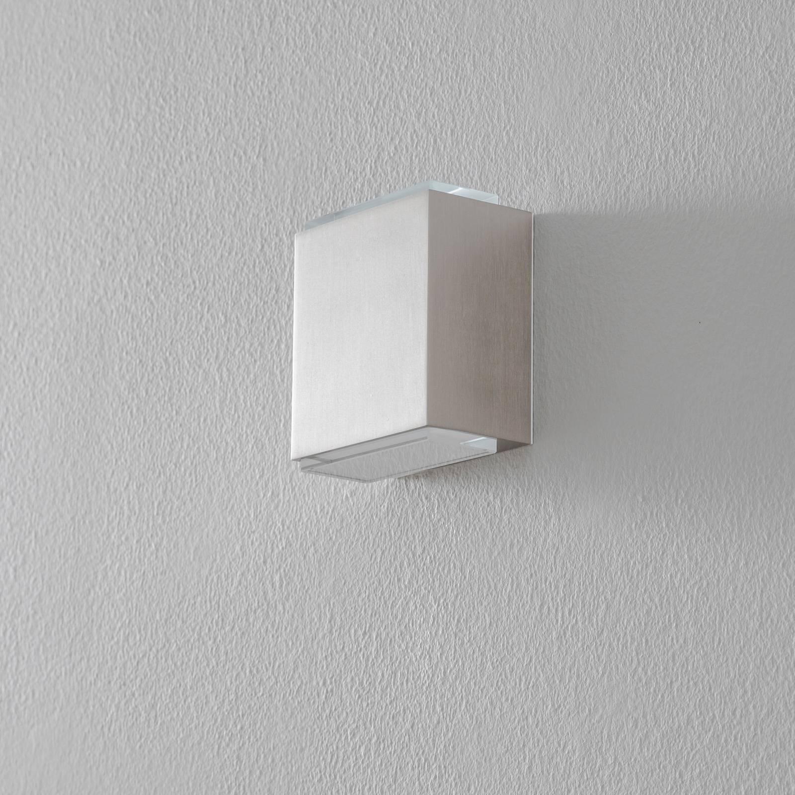 BEGA 23013 LED-seinävalaisin 3000K 9cm 510lm teräs