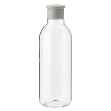 DRINK-IT Vannflaske Lysegrå 0,75 L