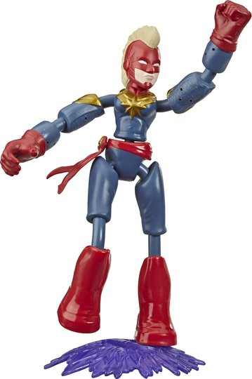 Marvel Avengers Bend And Flex Figur Captain Marvel