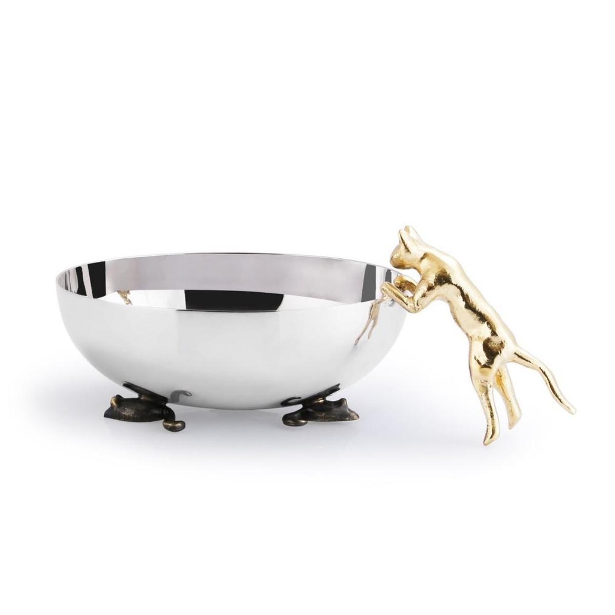 Michael Aram I Cat & Mouse Dish