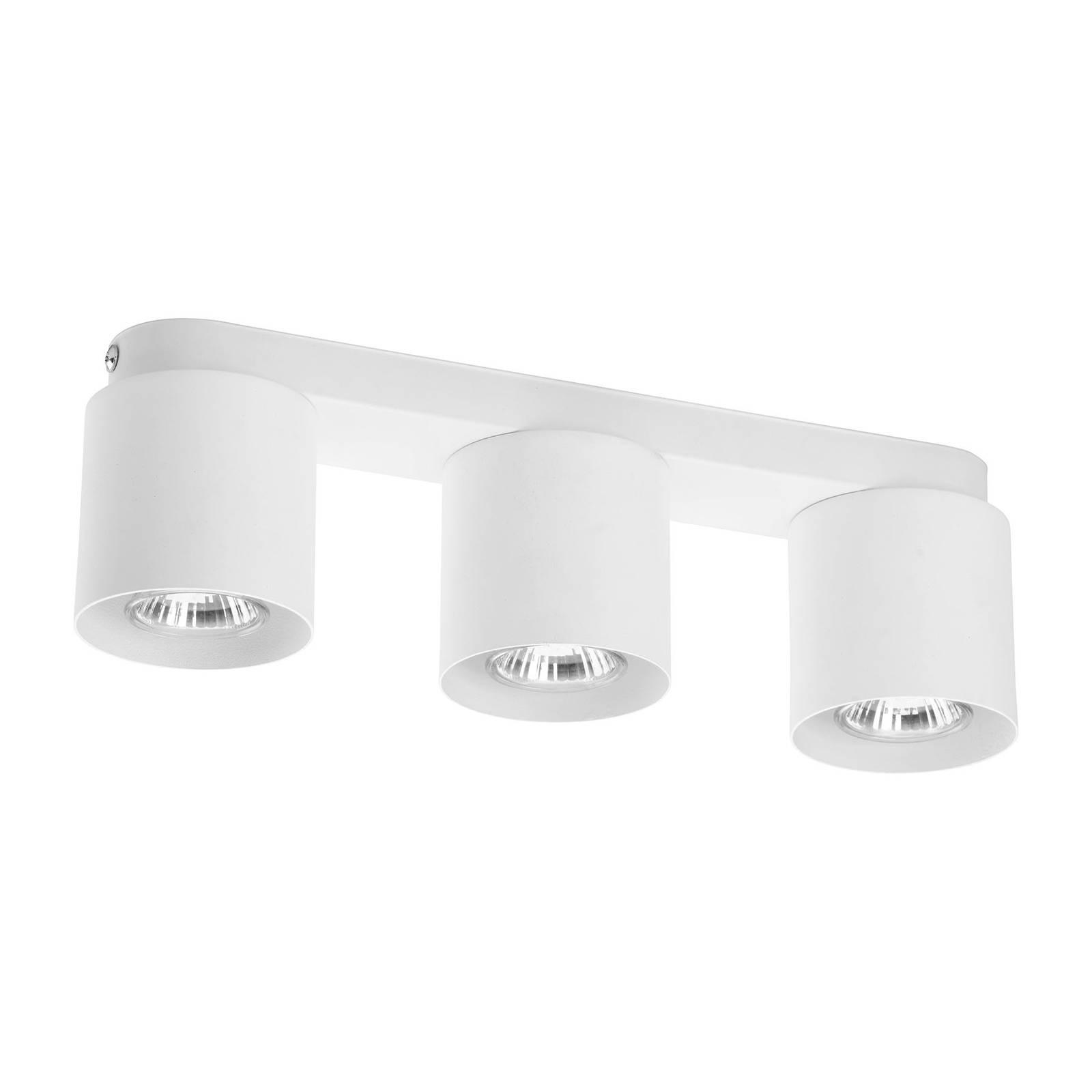 Kattovalaisin Vico, 3-lamppuinen, valkoinen