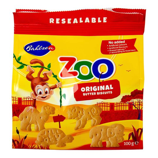 Zoo Butterkeks - 100 g