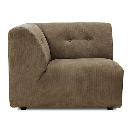 Vint Sofa Element Modul A Brun