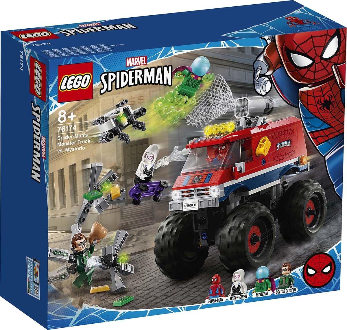 LEGO Super Heroes 76174 Spider-Manin Monstertruck vastaan Mysterio