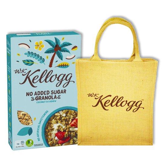 Kellogg's Granola & Jutepåse - 27% rabatt