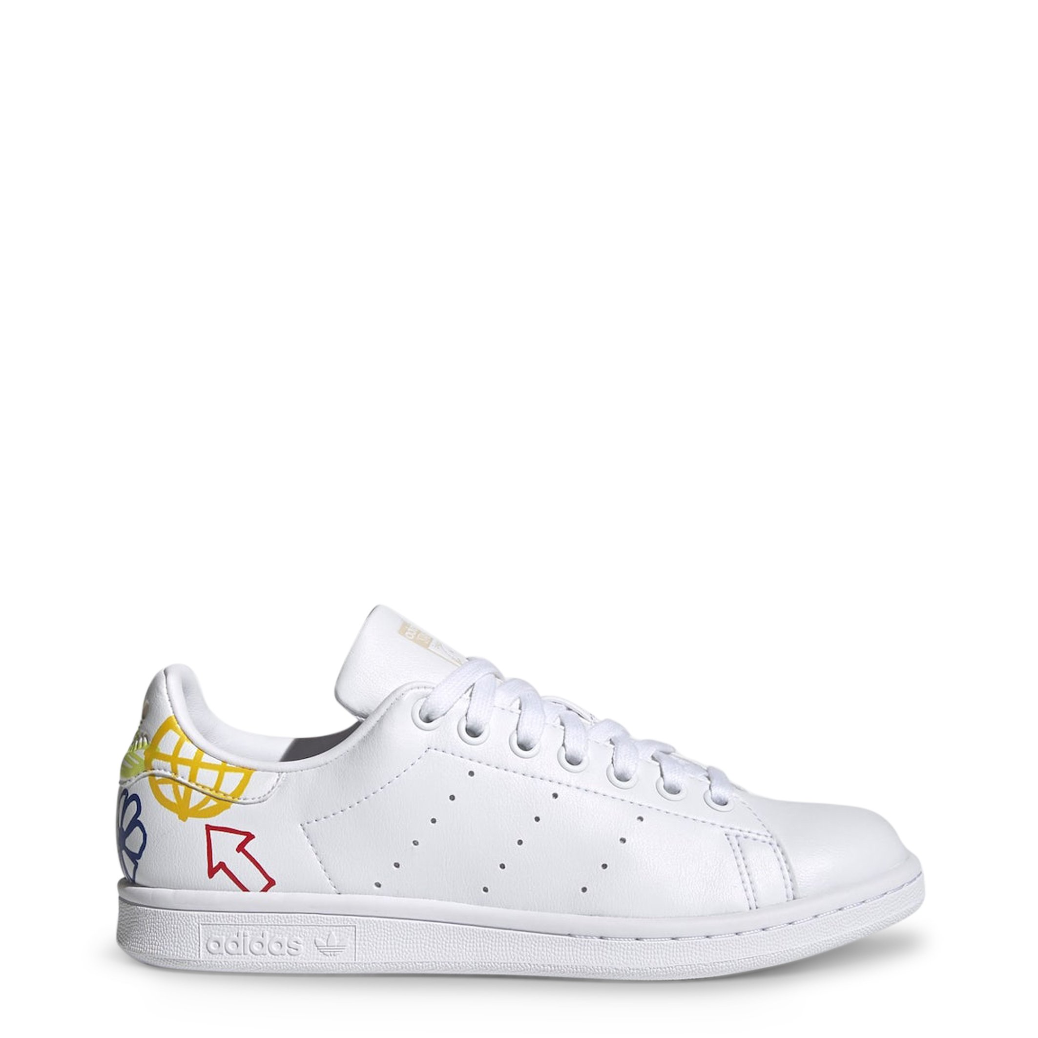 Adidas Unisex Stan Smith Trainers Various Colours - white-6 UK 3.5