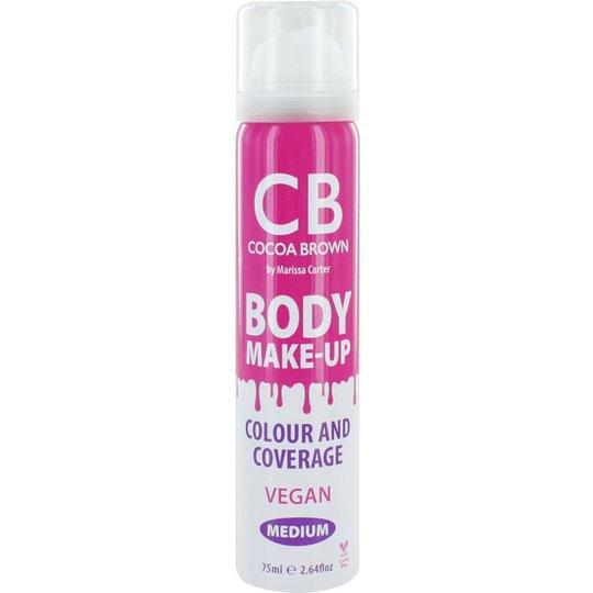 Body Make-Up Medium Colour & Coverage, 75 ml Cocoa Brown Itseruskettavat