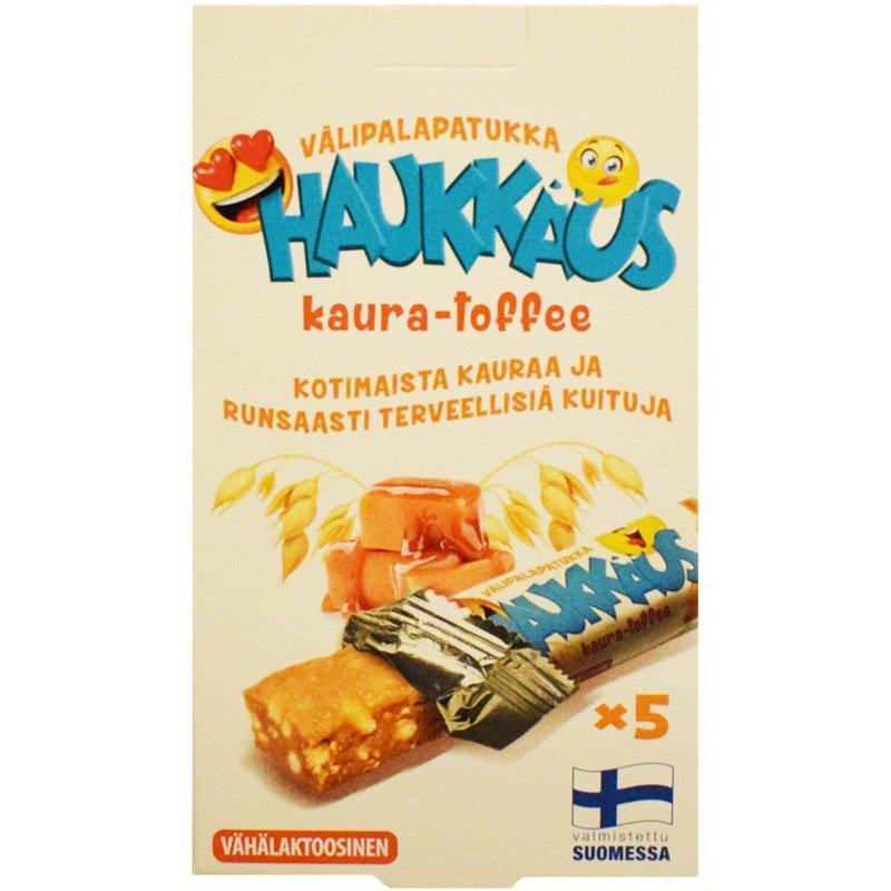 Välipalapatukat Kaura & Toffee - 66% alennus