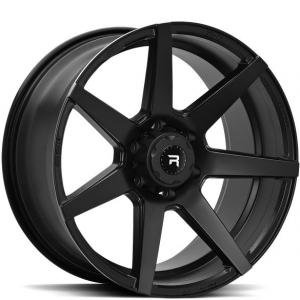 R-Series R11 Satin Black 9.5x20 6/139.7 ET15 B106.1