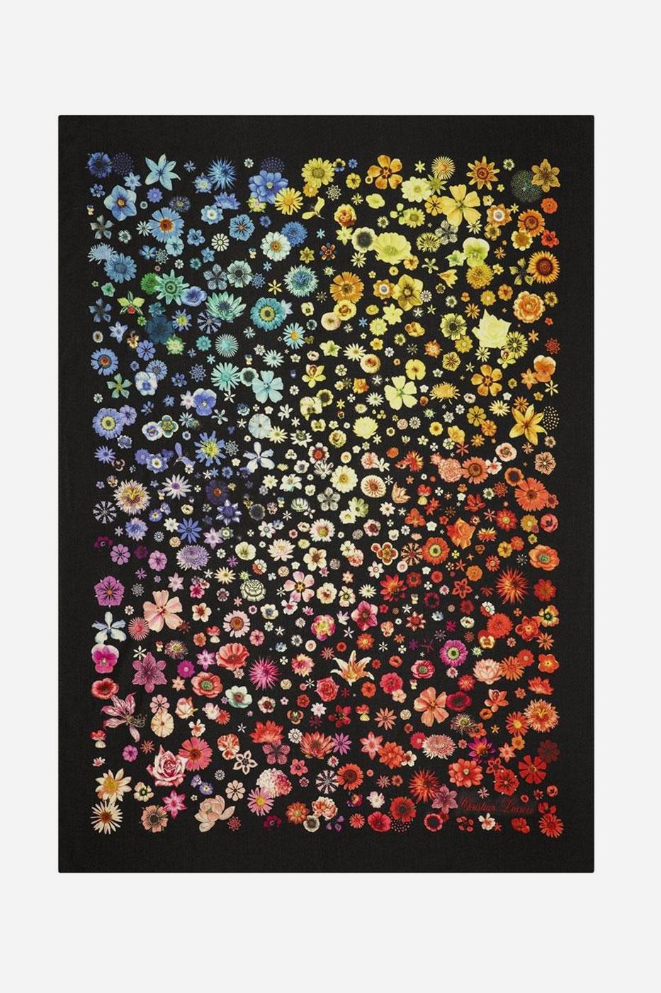 Pläd Jardin des Hesperides Multicolore 130x180