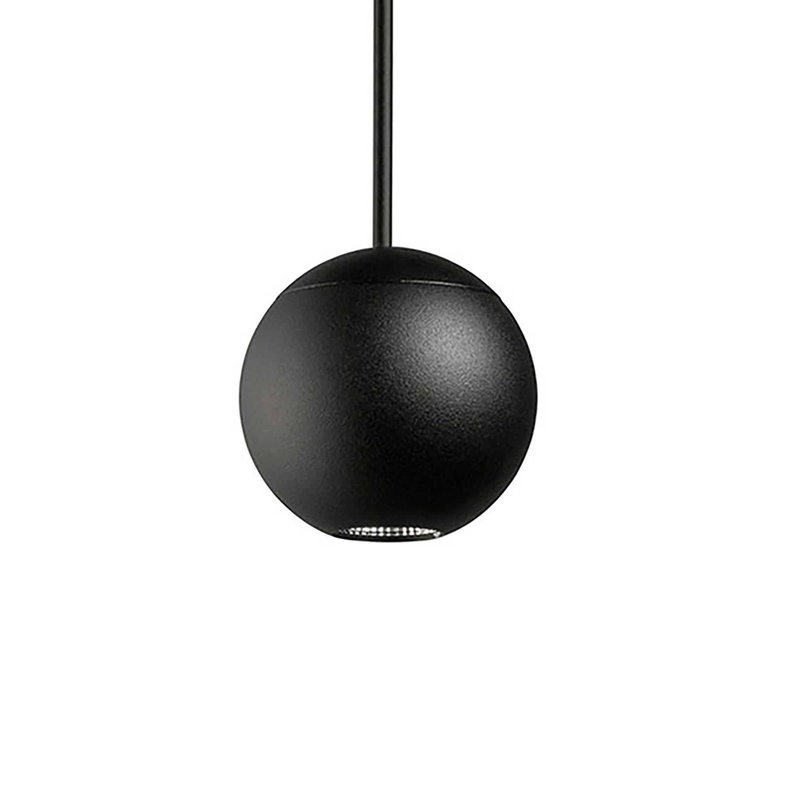 LEDS-C4 Punto Single Surfaced -riippuvalo musta