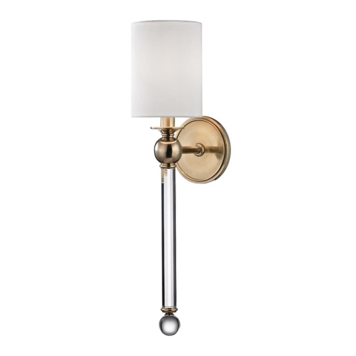 Hudson Valley I Gordon Wall Light I Aged Brass