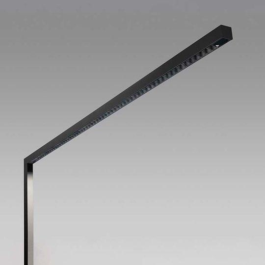 Lens LED-gulvlampe 3 000 K svart