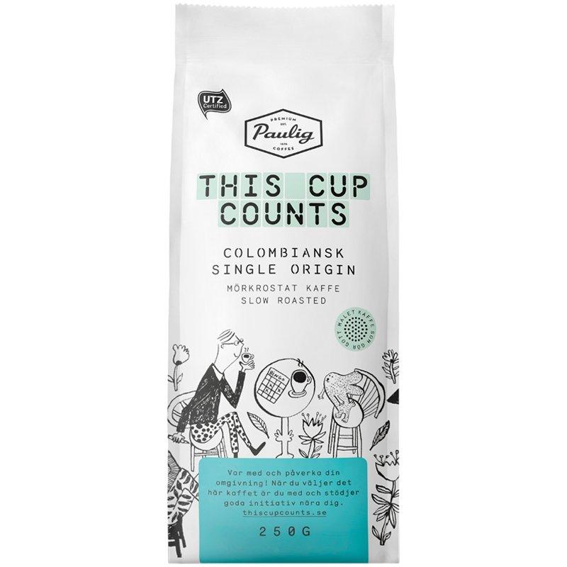 """Kaffe """"Single Origin"""" 250g - 44% rabatt"""