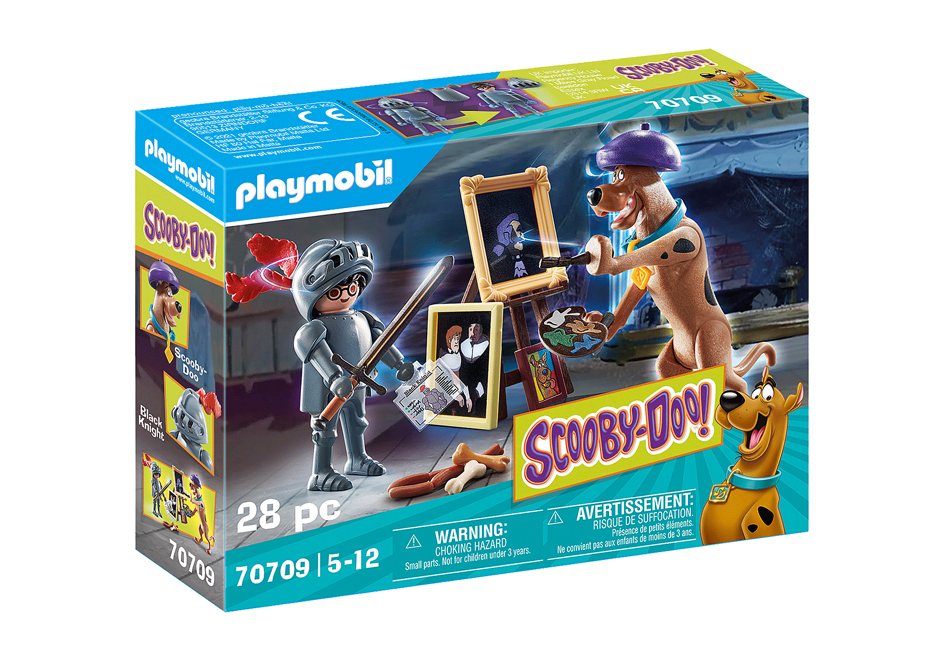 Playmobil - SCOOBY-DOO! Adventure with Black Knight (70709)