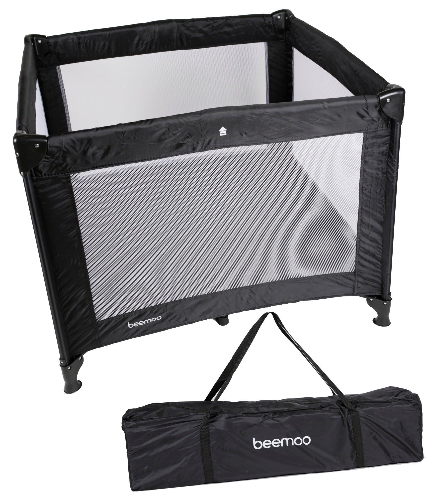 Beemoo Leikkikehä 90x90cm, Musta