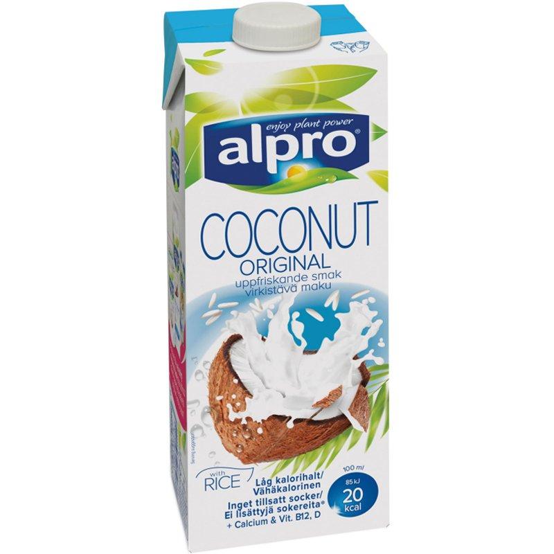 Kookos & Riisijuoma, Alpro 1l - 35% alennus