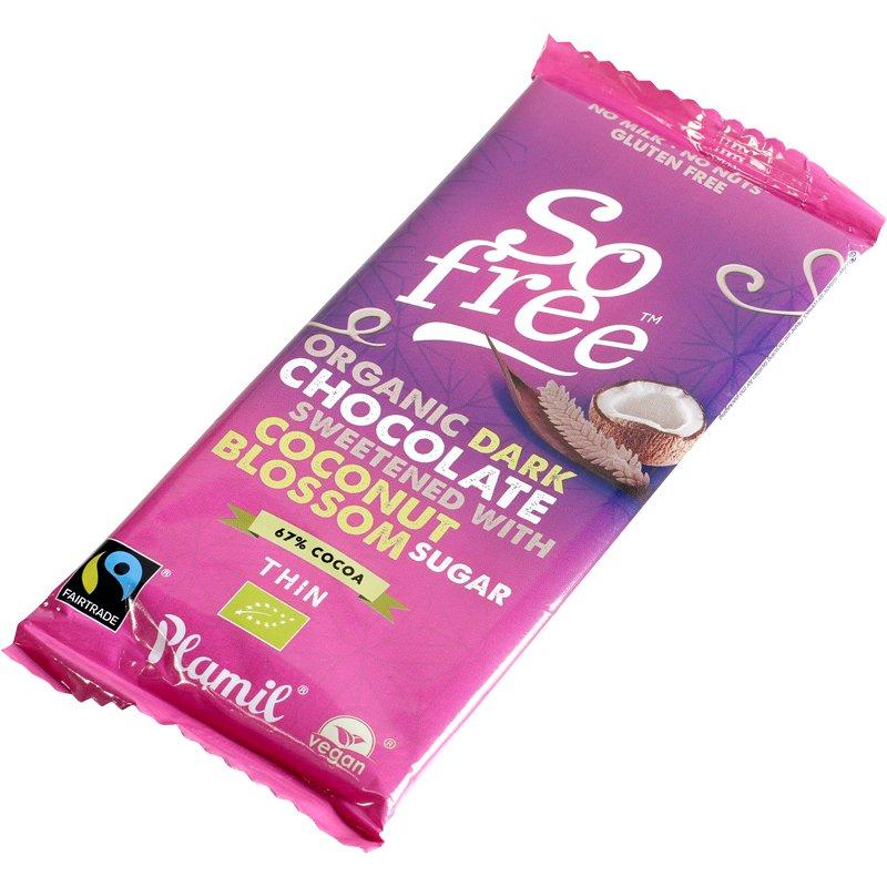 Luomu Tumma Suklaa - 60% alennus