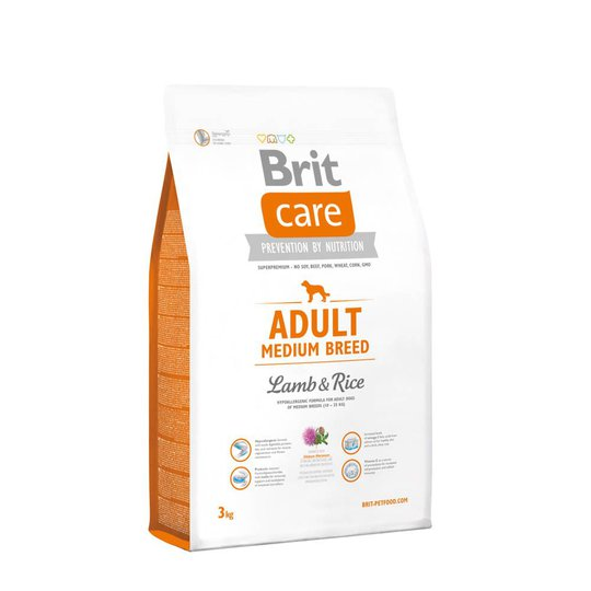 Brit Care Adult Medium Lamb & Rice (3 kg)