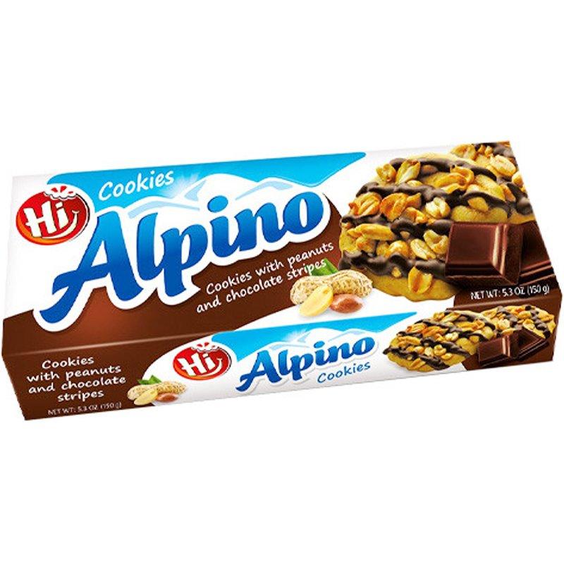 """Keksit """"Peanut & Chocolate"""" 150 g - 34% alennus"""