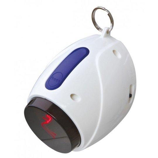 Laser-Pointer Moving Light, 11 cm, vit/blå
