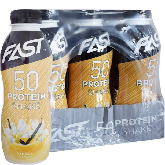 Proteinshake Vanilj 12-pack - 41% rabatt