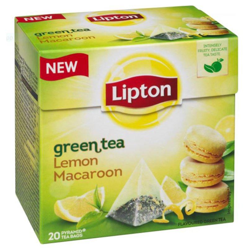 Grönt Te Lemon Macaroon - 25% rabatt