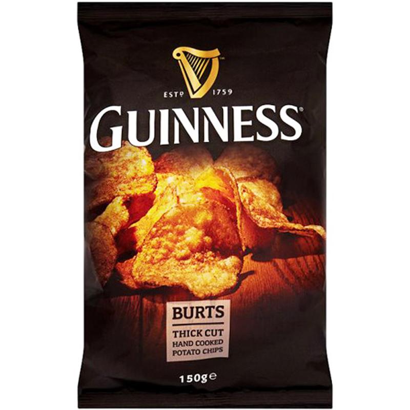 """Chips """"Guinness"""" 150g - 54% rabatt"""