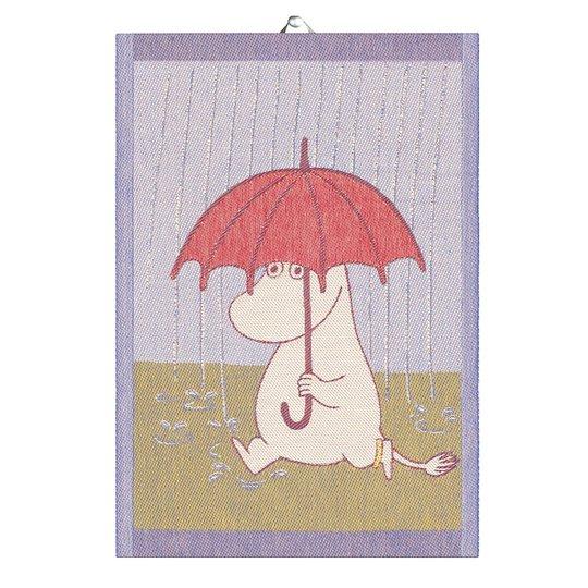 Ekelund - Mumin Handduk Rain 35x50 cm