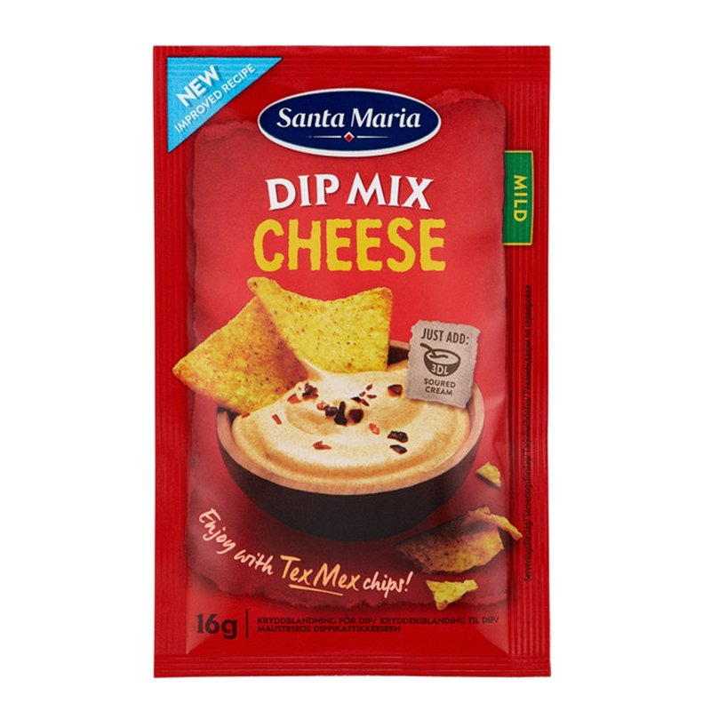 Dipmix Cheese - 14% rabatt